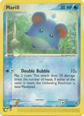 Marill - 68/100 - Common NM Sandstorm Pokemon 2B3