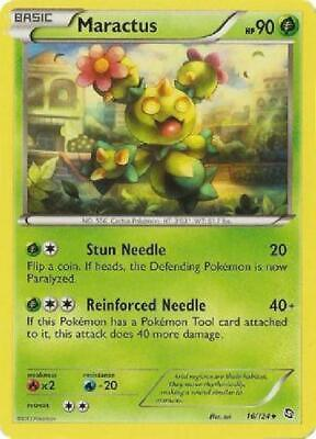 6x Maractus - 16/124 - Uncommon NM Dragons Exalted Pokemon