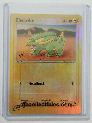 Pokemon ELECTRIKE 52/109 Reverse Holo Ruby & Sapphire - Excellent Condition