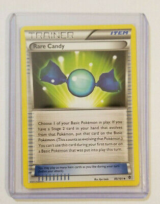 Pokemon RARE CANDY Trainer 85/101 Plasma Blast - Near Mint Condition + Bonus