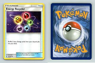 Energy Recycler #123/145 SM Guardians Rising Uncommon Pokemon 2017 TCG Card