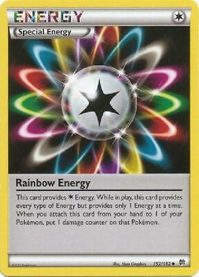 6x Rainbow Energy - 152/164 - Uncommon NM Pokemon XY Breakthrough