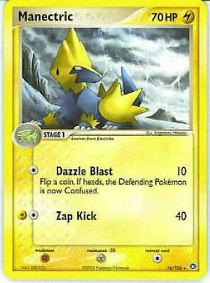 Manectric - 16/106 - Rare NM Ex Emerald Pokemon 2B3