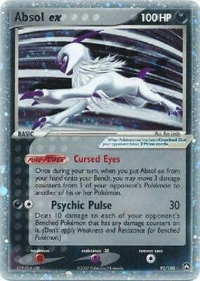 Absol ex - 92/108 - Ultra-Rare NM Power Keepers Pokemon