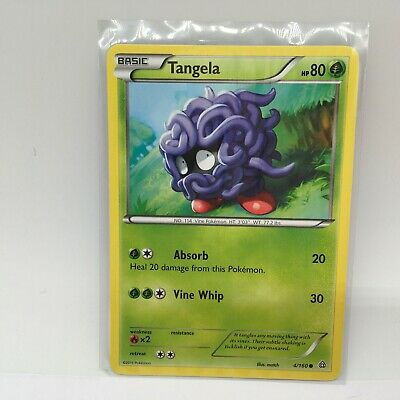 Tangela 4/160 - Common Pokemon Card - Primal Clash Set (2015) - Near Mint