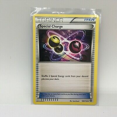 Pokemon Card Special Charge 105/114 Steam Siege Near Mint