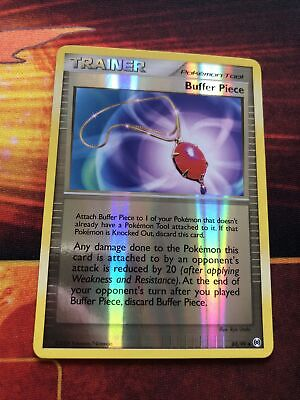 Pokemon Arceus Buffer Piece Reverse Holo Good 84/99