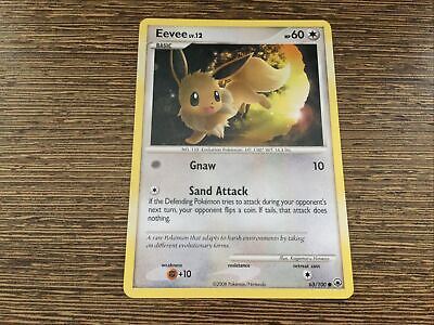 EEVEE 63/100 Diamond & Pearl Majestic Dawn - Common - Pokemon card x 1