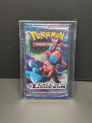Pokemon Call of Legends Booster Pack Factory Sealed Deoxys Art - unweighed.