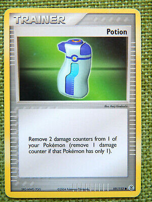 Potion 101/112 (LP, Pokemon Card, EX FireRed & LeafGreen, 2004 Trainer Common)