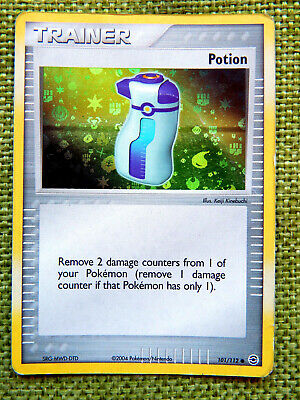Potion 101/112 (MP, Pokemon Card, EX FireRed & LeafGreen Trainer Holo Common)