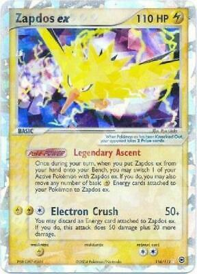 Zapdos ex - 116/112 - Ultra-Rare PL FireRed & LeafGreen Pokemon 9FS