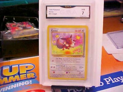 Eevee Pokemon Jungle Unlimited 51/64 Vintage 1999 WOTC - Graded GMA 7 NM