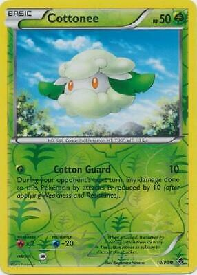 Cottonee - 10/98 - Common Reverse Holo Near Mint Emerging Powers Pokemon 5CP