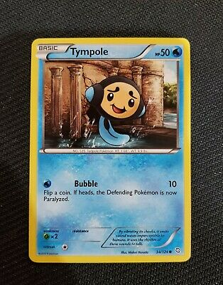 Pokemon TCG Dragons Exalted Tympole 34/124 - Excellent