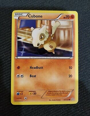 Pokemon TCG Dragons Exalted Cubone 60/124 - Lightly Played