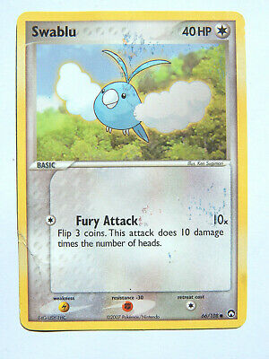 Swablu 66/108 (DMG, Pokemon Card, EX Power Keepers, 2007, Colorless, Common)
