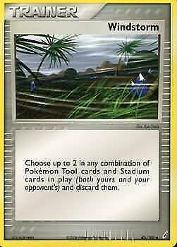Windstorm - 85/100 - Uncommon NM Crystal Guardians Pokemon 6GY