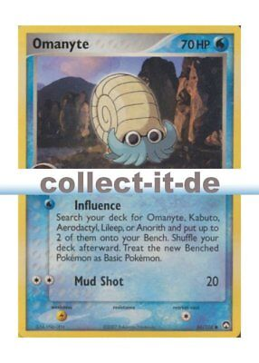 Pokemon EX Power Keepers - 56/108 - Omanyte - ENGLISCH