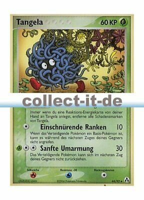 Pokemon EX Legend Maker 44/92 - Tangela Deutsch