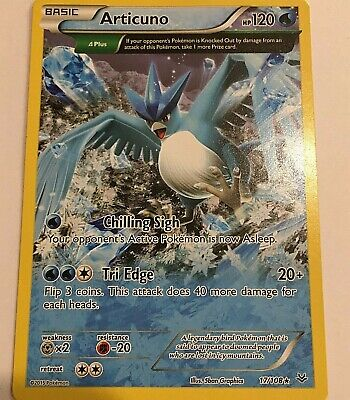 Articuno 17/108 ROARING SKIES Pokemon Card Non Holo Rare Full Art  -