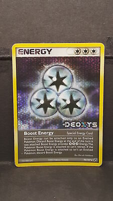 Pokemon Card Boost Energy EX Deoxys 93/107 Moderate Play Reverse Holo