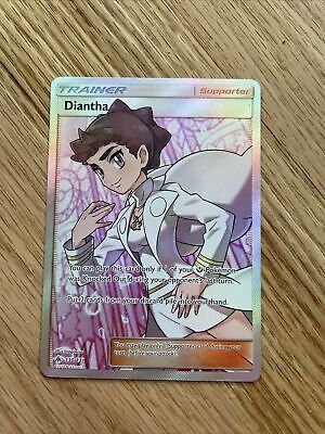 Pokemon Diantha full art 130/131 SM - Forbidden Light Near Mint