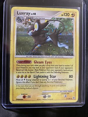 Luxray 7/130 Diamond & Pearl - Holo Rare - Pokemon Card
