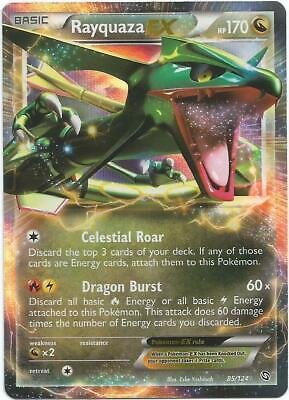 Pokemon TCG Dragons Exalted - Rayquaza EX 85/124 NM/M