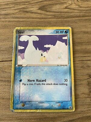 Seel - 78/112  - EX FireRed and LeafGreen Pokemon Trading Card LP