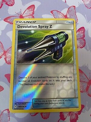 Devolution Spray Z -166/214 - Reverse - Unbroken Bonds - Pokemon Card - Mint