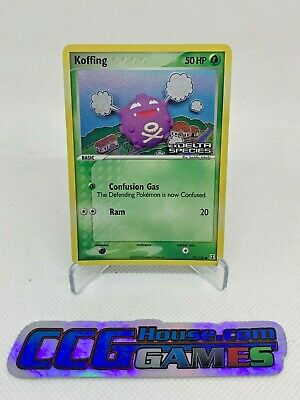 Pokemon Koffing 72/113 Stamped Promo Holo Foil EX Delta Species PSA BGS CCGHouse