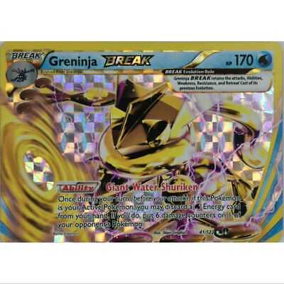 Pokemon Greninja Break 41/122 Holo - XY Breakpoint - Englisch NM/M