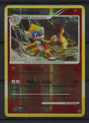 Monferno - 41/100 - Uncommon Reverse Holo Diamond & Pearl Pokemon Card
