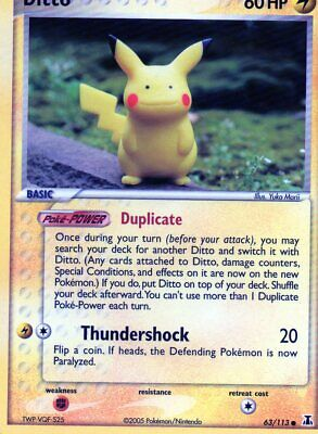 Pokemon Delta Species - Hidden Legends - Legend Maker   Individual Trading Cards