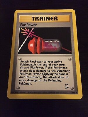 Pokemon CCG Base Set 2 PlusPower - 113/130 NM