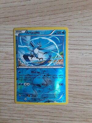 Pokemon REVERSE HOLO ARTICUNO RARE Roaring Skies 16/108 Fresh out of the pack!