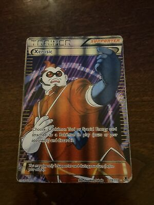 Xerosic 119/119 Full Art XY Phantom Forces Pokemon Card NM