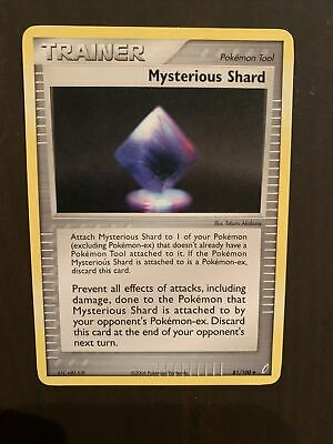 Mysterious Shard 81/100 EX Crystal Guardians PERFECT MINT! Pokemon