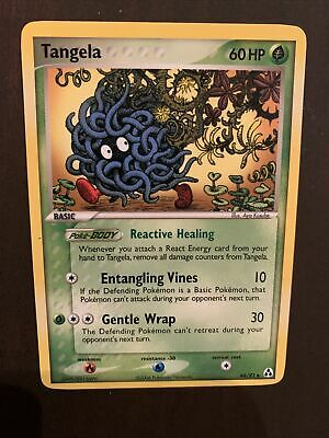 Tangela 44/92 Non-Holo Ex Legend Maker Pokemon Card - NEAR MINT