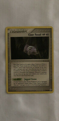 EX Legend Maker Claw Fossil HP 40 78/92 Pokemon Trainer Card PSA BGS NO RESERVE