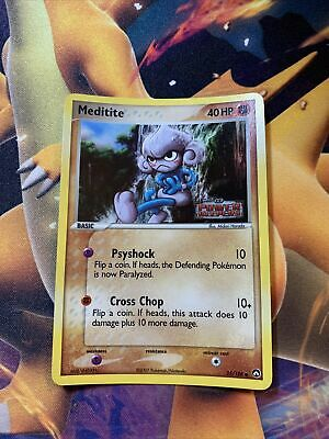 Meditite 55/108 ex Power Keepers Reverse Holo Near Mint Pokemon