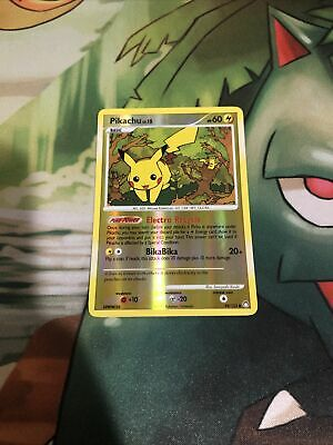 Pokemon Pikachu 94/123 Reverse Holo - Mysterious Treasures Card LP/NM