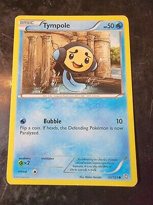 Tympole 34/124 Common Pokemon Dragons Exalted *BUY 2 GET 1 FREE*