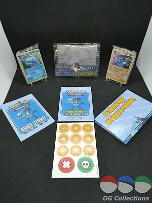 2007 Pokemon Diamond & Pearl Trainer Kit - No Booster Pack - Lucario Holo Bleed
