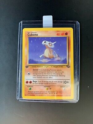 CUBONE - 50/64 - Jungle - 1st Edition - Pokemon - NM / MINT