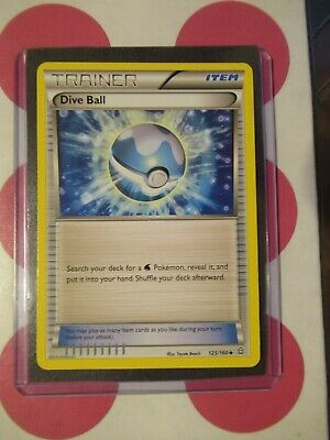 Pokemon Dive Ball 125/160 Primal Clash Uncommon *combined shipping*