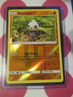 Pokemon Pancham 81/181 Reverse Holo Team Up Common *combined shipping*