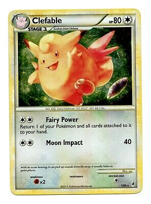 NM- Clefable 1/95 HOLO Rare Call of Legends Pokemon Card