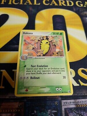 pokemon kakuna 46/113 uncommon ex delta species 2005 near mint